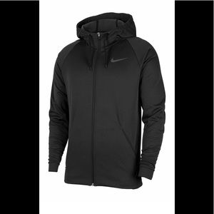 NIKE Therma Hoodie mens Black Color Mens Small NWT